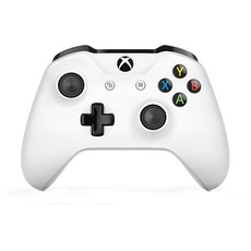 купить Джойстики и рули Microsoft Xbox One S Wireless Controller, white TF5-00004